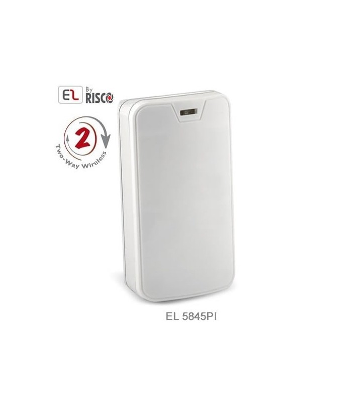 Wireless Motion Detector 1 & 2 Way, Immune to pets up to 45Kg, Electronics Line EL-5845PI