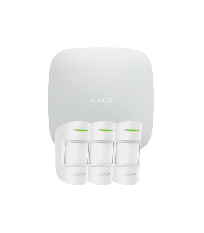 Kit de alarme wireless Ajax AJ-HUBKIT-PRO-W
