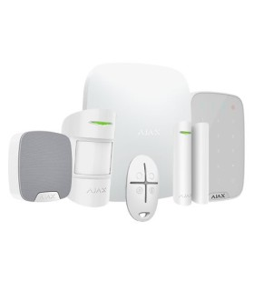 Ajax wireless alarm kit AJ-HUBKIT-W-KS