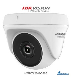 Camara dome Hikvision 1080p lente 6mm - HWT-T120-P-0600