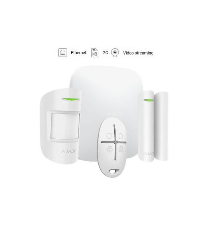 Ajax wireless alarm kit AJ-HUBKIT-W