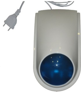 Wireless outdoor siren for alarm systems 866 MHz