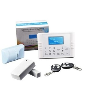 Wireless Dual network GSM PSTN Alarm system G70F