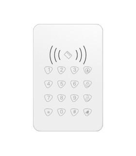 Wireless keyboard with RFID card reader