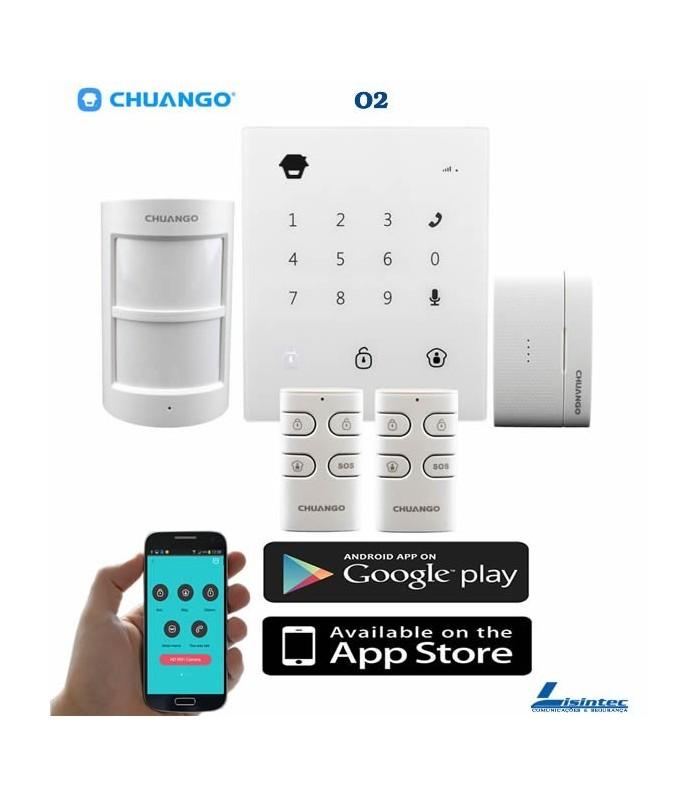 Wireless GSM alarm CHUANGO GO2